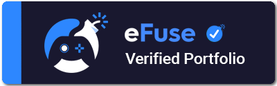 eFuse Portfolio Badge