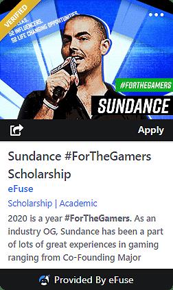 efuse sundance scholarship